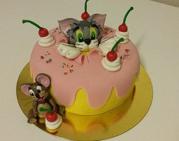 Cake with Tom & Jerry