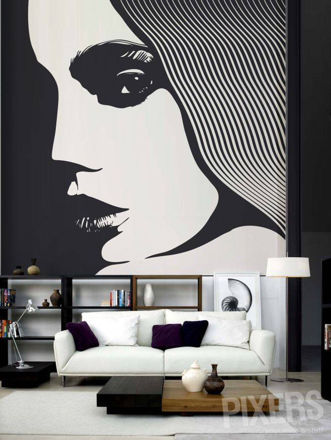 1000 mural ideas on pinterest murals wall murals and for Pixers your walls and stuff