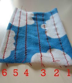 Sewing knits on a regular machine...very helpful tips. Also on this page is sewing with a double needle.
