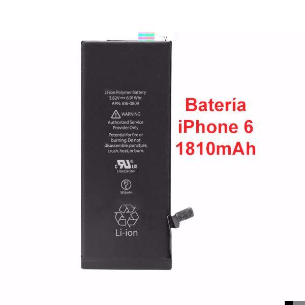 Batería Interna de Recambio Para iPhone 6 de 1810mAh modelo 806974 - Batería paraiPhone6 Cuando vemos que nuestra batería deja de funcionar y no tenemos la misma duración como cuando la compramos, esto se debe al numero de cargas que hacemos, por lo que cuantas mas veces la cargues su durabilidad se ira perdiendo, por lo que te darás cuenta que no a terminado el... - http://www.vamav.es/producto/bateria-interna-de-recambio-para-iphone-6-de-1810mah-modelo-806974/