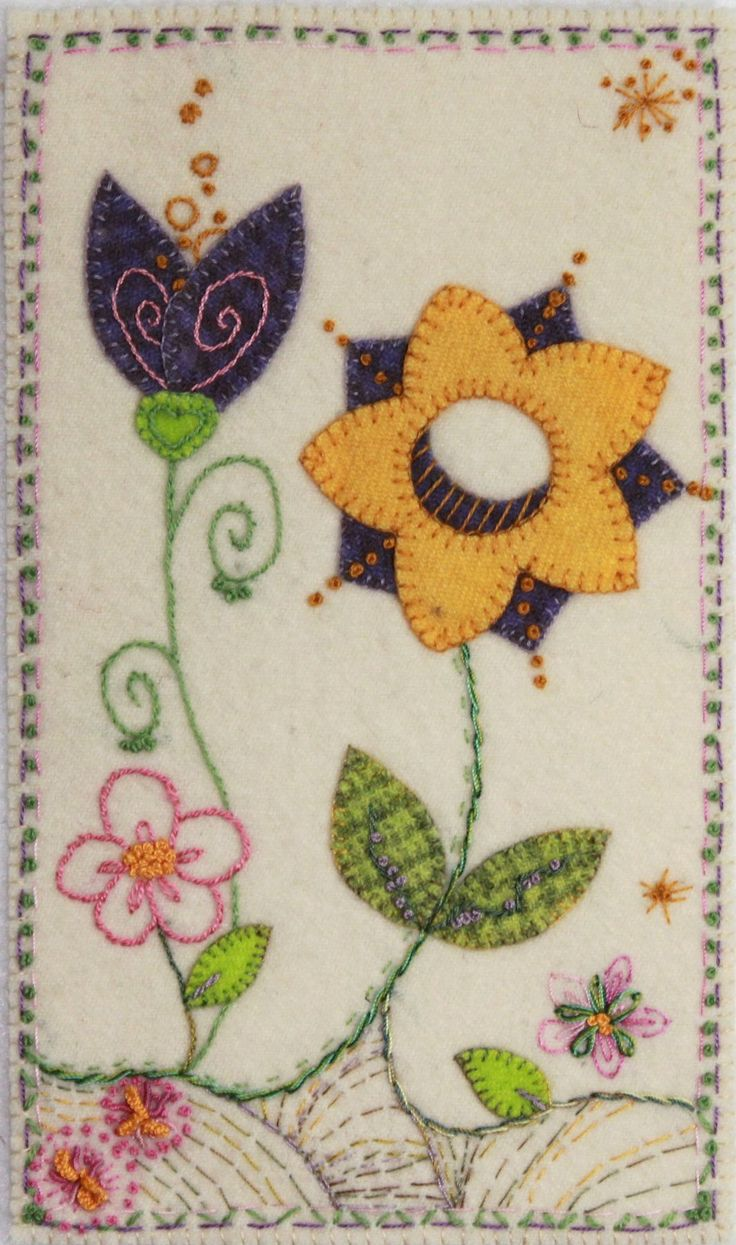 Spring - Wool Applique