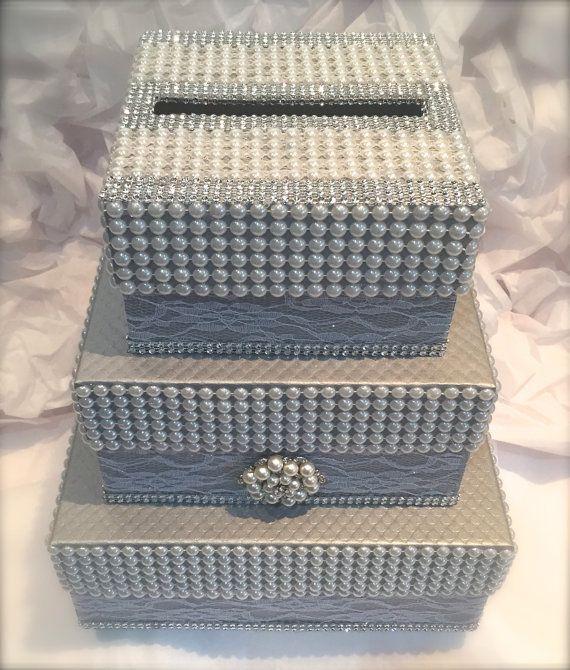 Hey, I found this really awesome Etsy listing at https://www.etsy.com/listing/230383537/three-tier-wedding-envelope-boxwedding