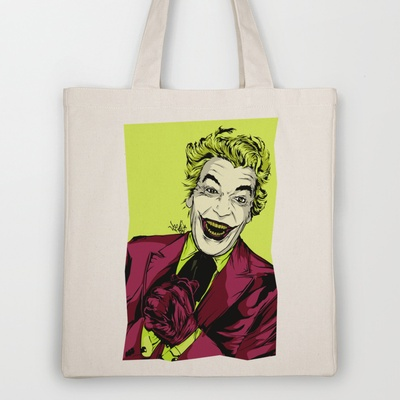 Joker On You 2 Tote Bag by Vee Ladwa - $18.00