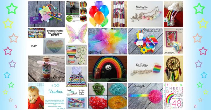 Enter to win: Ella's Trinket Box Rainbow Giveaway valued over $500! | http://www.dango.co.nz/s.php?u=3zm9k6pb2173