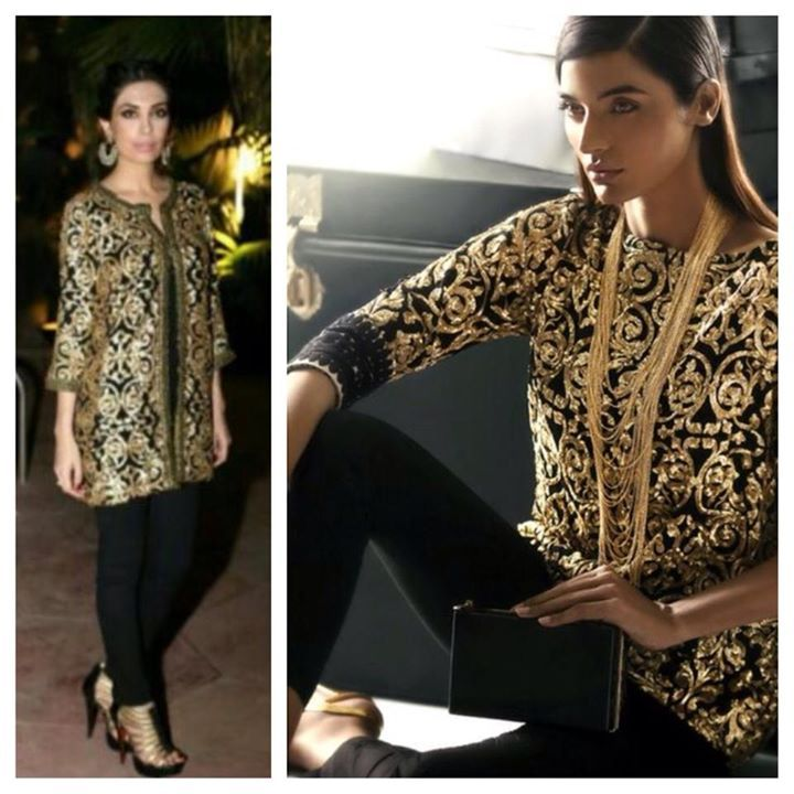 Black And Gold Shirts For Women
