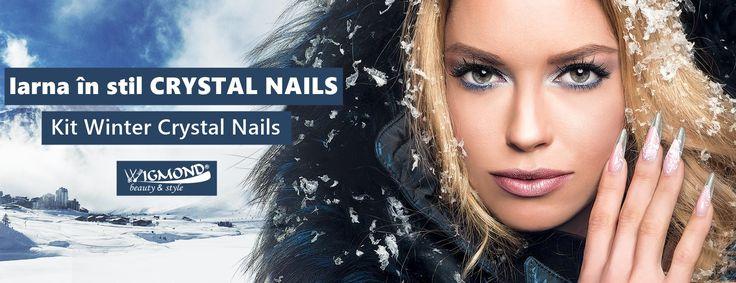 Cand vine #iarna pe ulita, #CrystalNails vine cu kiturile promo speciale de sezon! 💨❄️️  ___________________________ >>  http://bit.ly/wig_WinterKit  << #Wigmond #WinterKit #RoyalGel #OneStepCrystaLac #CrystaLac
