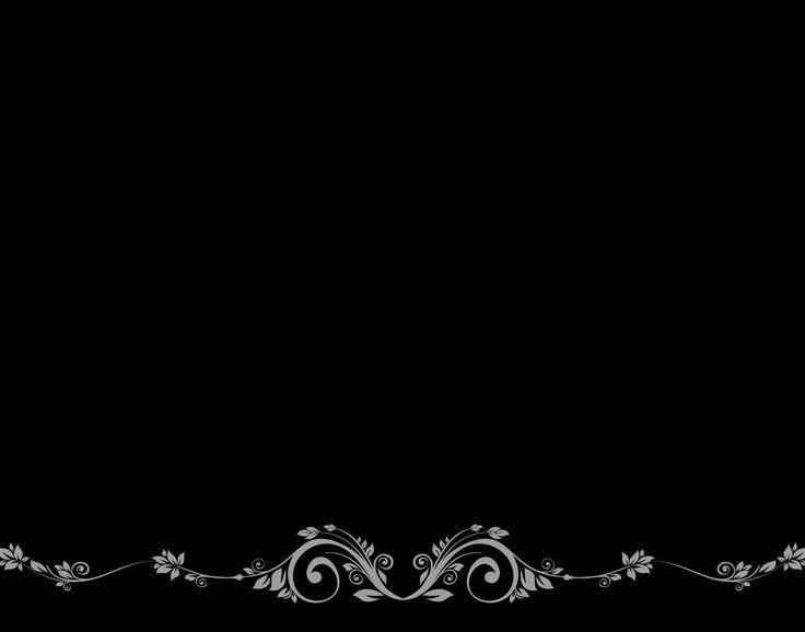 Elegant Black Border Backgrounds