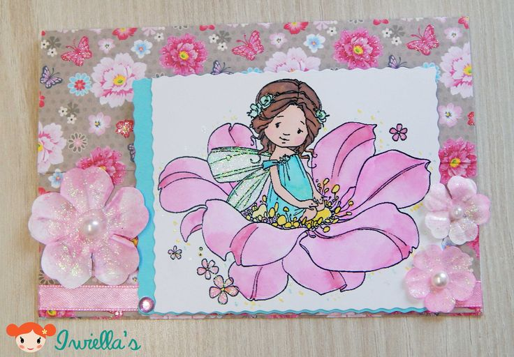 Easel card for Glitter challenge | Iwiella's