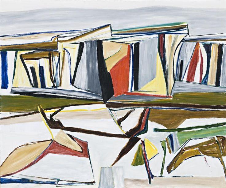 Ken Whisson Southern European Landscape No 1