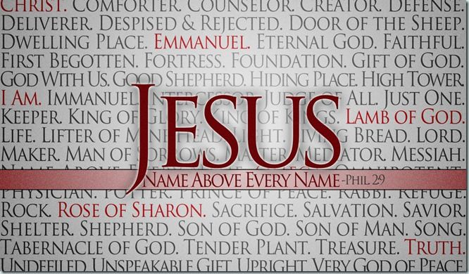 Those who know Your name will put their trust in You. – Psalm 9:10 Yes, Lord, Jesus Christ, we know Your Name and we put our trust in You, in You alone. Amen.