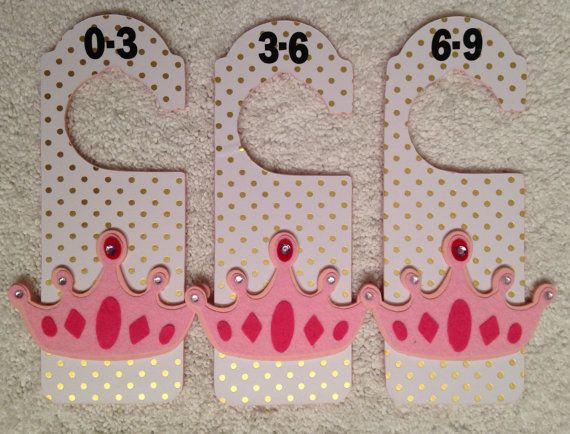 Baby closet dividers. Nursery closet dividers. by CraftCraftBaby