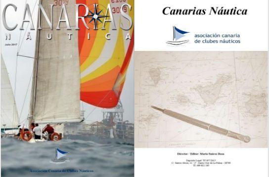 Si te gusta la vela disfrutarás con la publicación digital de Canarias Naútica creada en EDITAFÁCIL