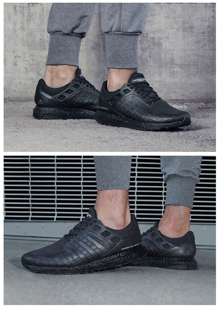 Adidas porsche design ultra Boost Triple negro Jack formadores venta