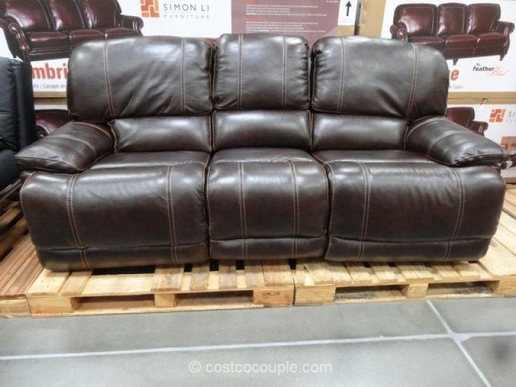 costco leather sofa cheers clayton motion leather sofa