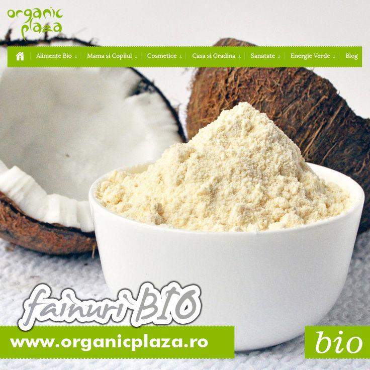 Faina de Migdale Bio | Faina de Cosos Bio | Faina de Quinoa Bio! Descopera-le la Organic Plaza: http://organicplaza.ro/fainuri-diverse