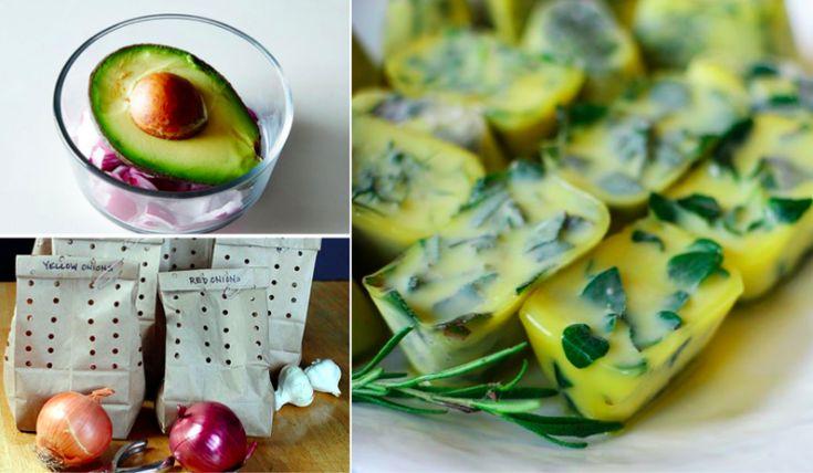 20 astuces indispensables pour garder vos aliments plus longtemps