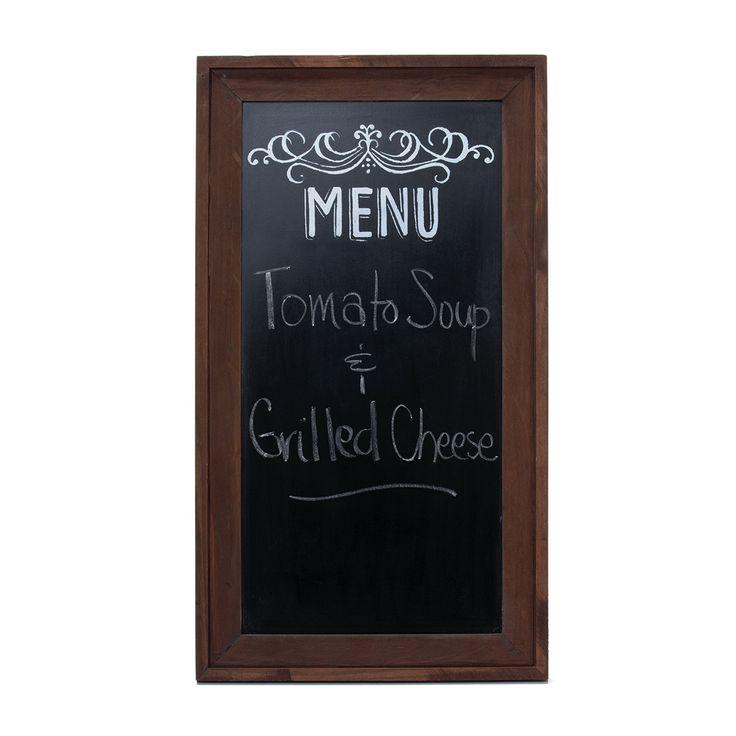 """American Backroads Menu Chalkboard 11.5"""" x 21"""""""