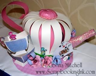 Paper Hat, Tea Pot Hat