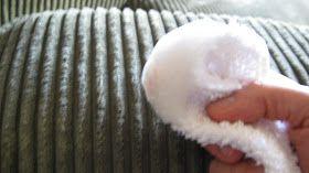 Home Musings: Homemade Upholstery Cleaner