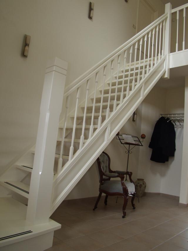 Kapstok onder de trap ook een idee hal entree pinterest - Trap voor daken ...