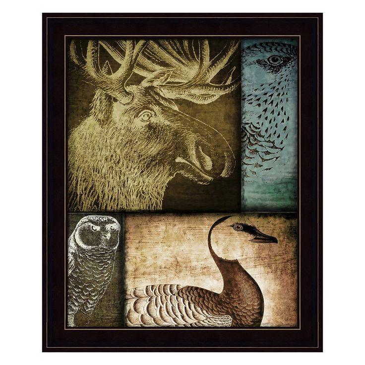 Hunting Season III Framed Wall Art, Multicolor