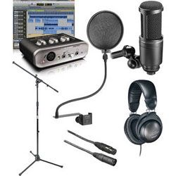 The home recording studio starter kit that B-and-H created on my specs.  Very cool and very affordable - that was the whole point;).