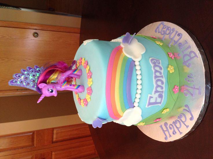 My Little Pony Birthday Cake  Birthday Cakes  Pinterest