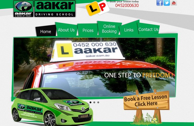 Matrix Bricks Infotech launch one more project aakar.com.au We have done Logo Design, Web design & web development for this project. AAKAR is a Sydney based driving school, offering private driving lesssons for inexperienced drivers and those new to the road.