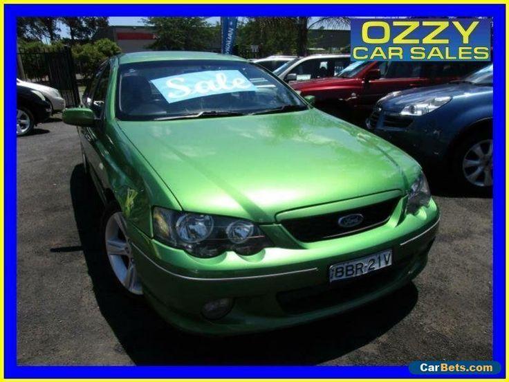 2004 Ford Falcon BA MkII XR6 Envy Automatic 4sp A Sedan #ford #falcon #forsale #australia