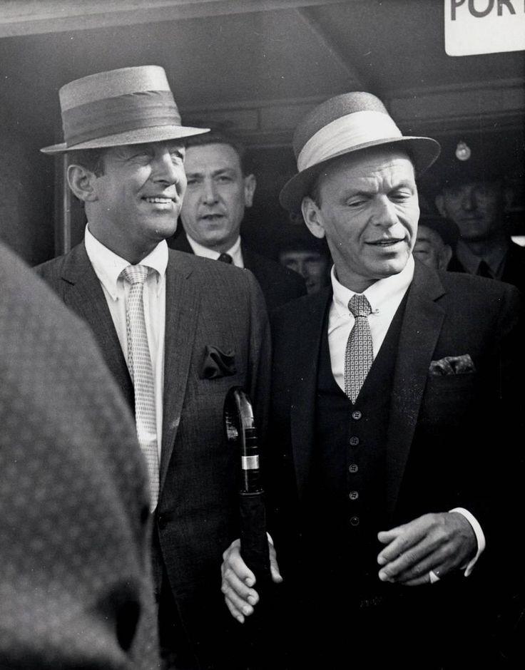 pictures of dean martin in ebony magazine | Frank Sinatra & Dean Martin, London, 1961