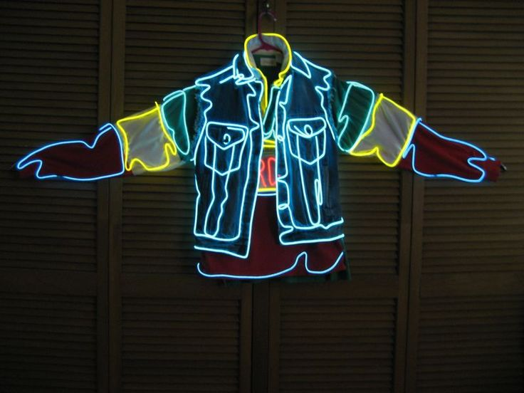 Picture of el wire Light Up Costume
