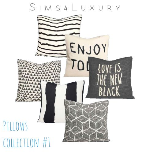 Decor pillows collection 1 from