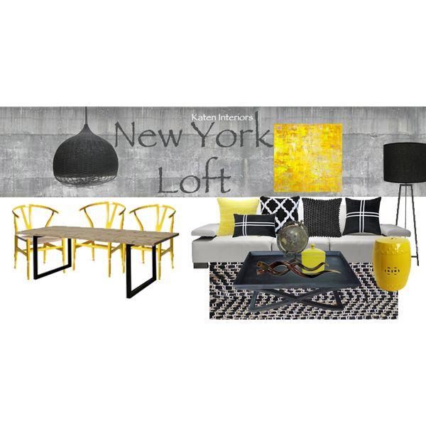 Moodboard New York Loft