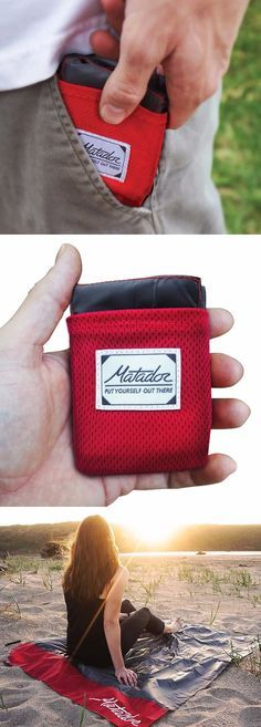 Matador Pocket Blanket - Gear and Gadget that can be EDC Everyday Carry @thistookmymoney