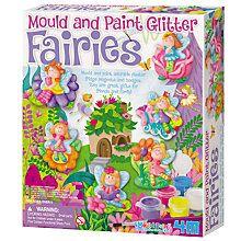 Buy Mould & Paint Glitter Fairies Kit Online at johnlewis.com