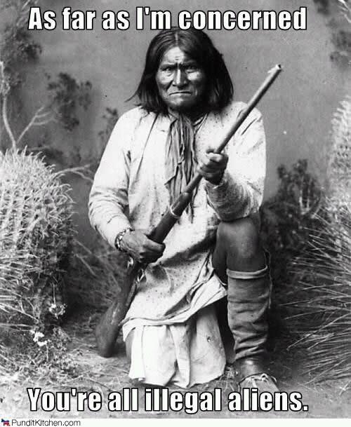 Geronimo says ..