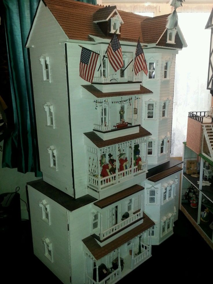 1000 ideas about large wooden dolls house on pinterest. Black Bedroom Furniture Sets. Home Design Ideas