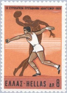 Discus throw, modern and ancient