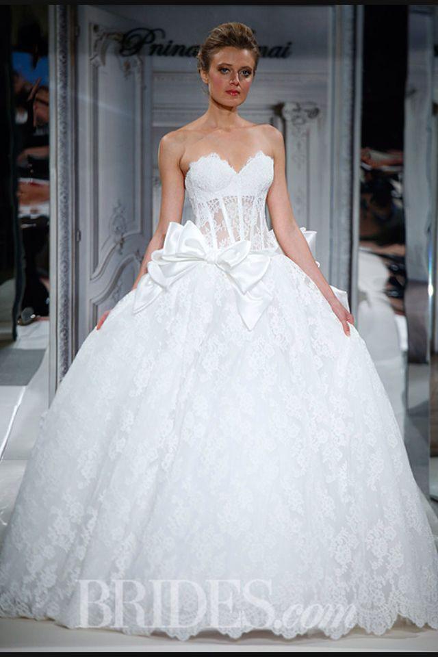 This is a nice panina wedding dress