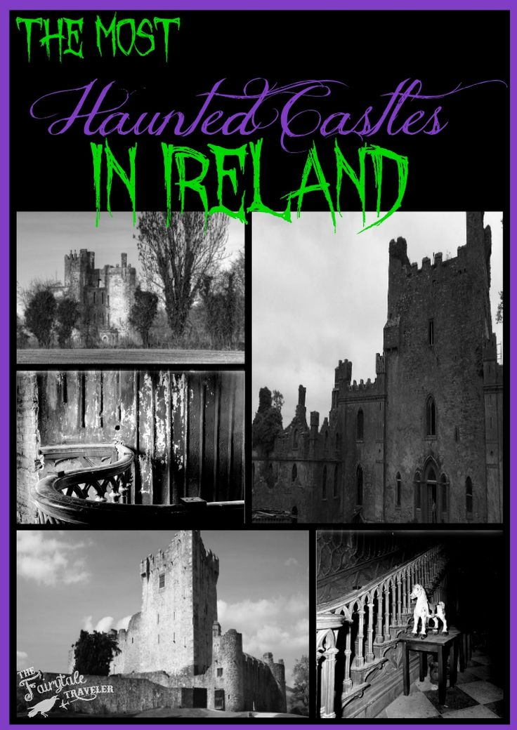 These haunted castles in Ireland are among some of the scariest haunted places you can ever dare to visit. Sleep in haunted castle hotels, or just explore the ruins of haunted castles. Either way, you'll be spooked out no doubt at these places in Ireland.