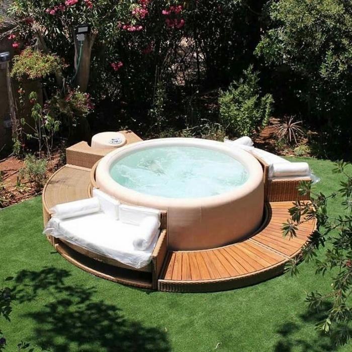 Softub Australia Your Specialist For Soft Spas Hot Tub Outdoor Outdoor Tub Hot Tub Garden