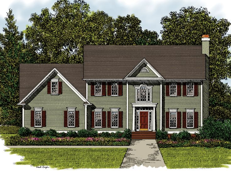 House plans 4 bedroom 1 story