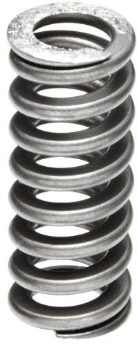 Heavy Duty Compression Spring, Chrome Silicon Steel Alloy, Inch, 0.625 in. OD, 0.093 x 0.125 in. Wire Size