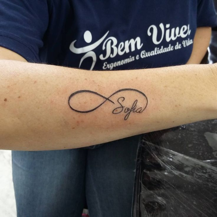 Infinito e Nome #tattoo #tatuagem #tattoos #tattooist #instattoo #inktattoo #instalove #tattoonome #tattooname #tattooescrita #tattooletras #tattoolettering #tattooinfinito #nome #infinito #lettering #letras #escrita #tatuada #homenagemfilha #homenagem #love #life #tattoolife #tattoowoman #tatuagemfeminina #inked #girltattoo #tattoo2me #inspiration #inspirationtatoo #tatuadora #tattoobrasil  (em Black Magic Tattoo)
