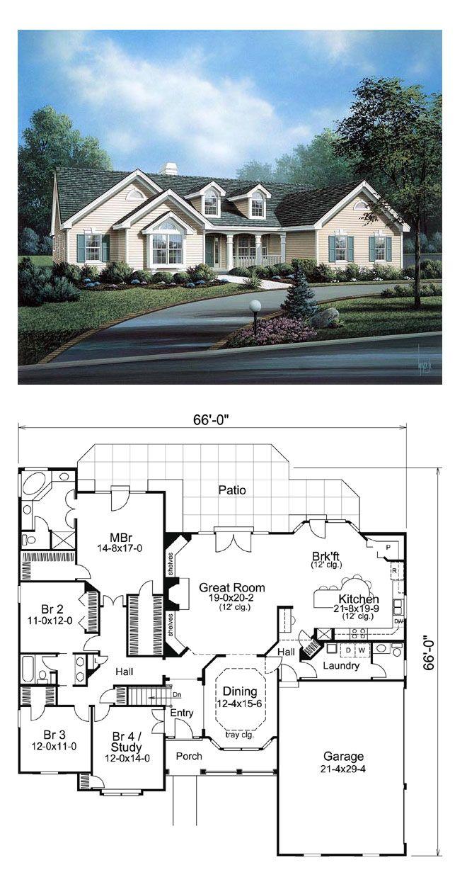 16 best cape cod house plans images on pinterest cool house