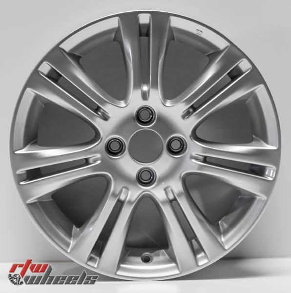 "16"" Honda Fit oem replica wheels 2009-2012 Silver rims - https://www.rtwwheels.com/store/shop/16-honda-fit-oem-replica-wheels-for-sale-silver-rims-aly63990u20n/"