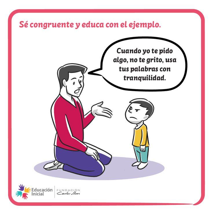 #Ejemplo #Educación #Padres #ManejoDeConflictos #Madres #Congruencia