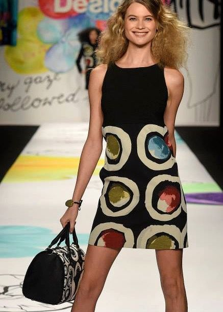 93780162e9 57V2LC4_2000 Desigual Lacroix Dress Petite Caprice fashion show | fdslk in  2019 | Fashion, Dresses, Style