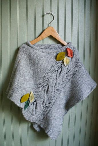 Could recycle a sweater for this project.