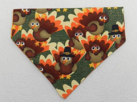 Turkey Anyone Custom made Thanksgiving Autumn by PamperedPupNStuff